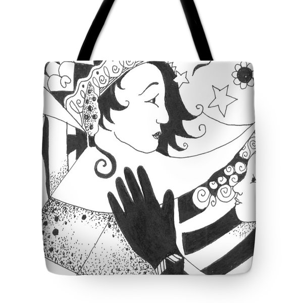 In Duality There Is No Light Without Dark Tote Bag