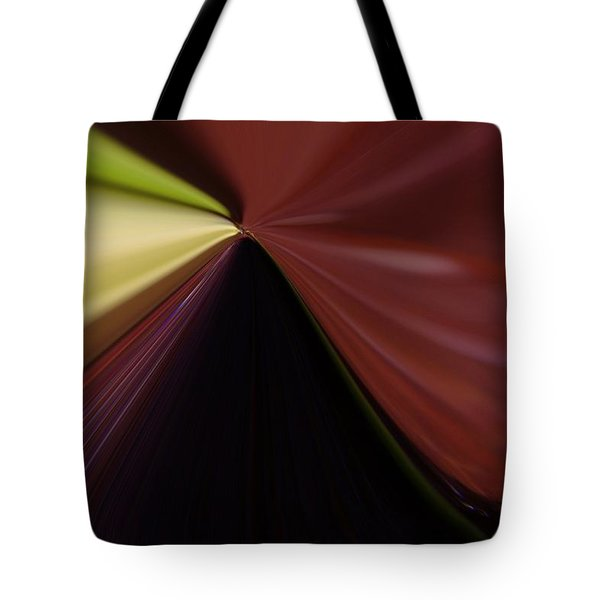 In Fast Flight From A Bugs Eye  Tote Bag by Jeff Swan