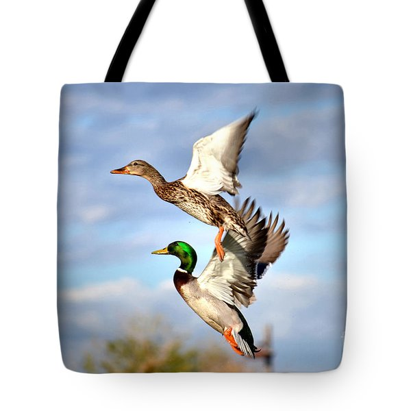 In-flight Tote Bag