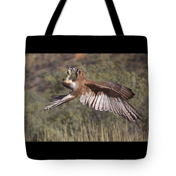 In Flight Meals Tote Bag