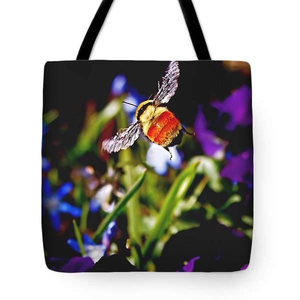 In Flight Tote Bag by Rona Black