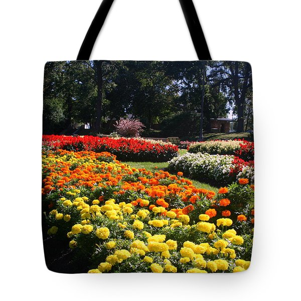 In Full Bloom Tote Bag by Kay Novy