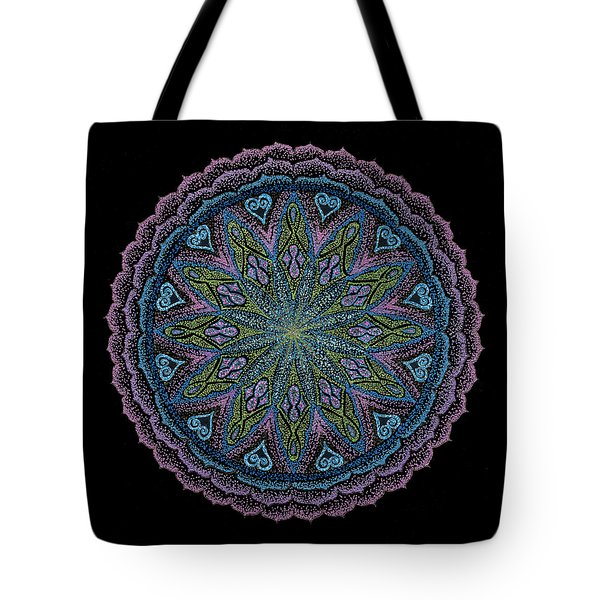 Tote Bag featuring the painting In Full Faith by Keiko Katsuta