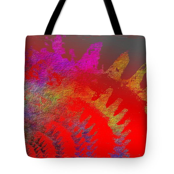 In Gear Tote Bag by Tim Allen