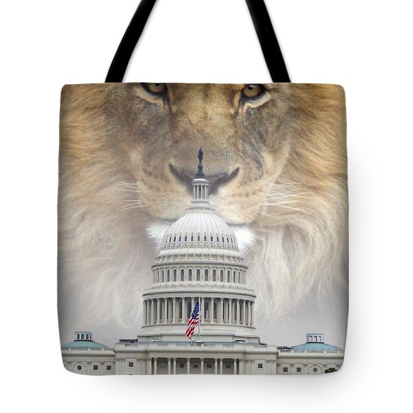 In God We Trust Tote Bag by Bill Stephens