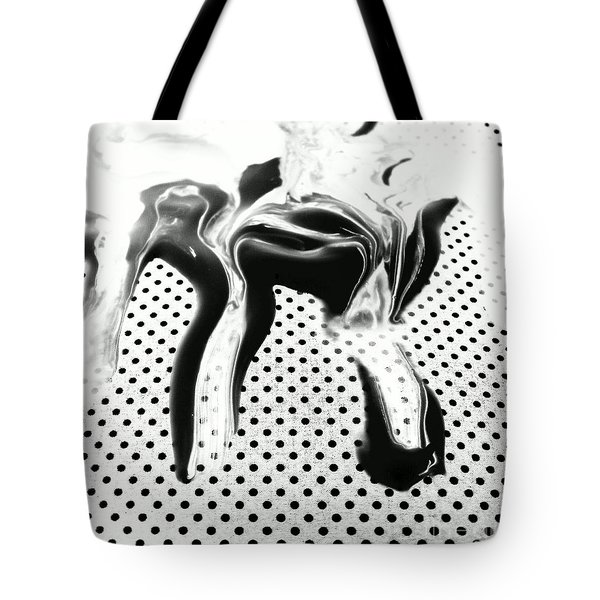 Tote Bag featuring the painting In Graphic Detail by Jacqueline McReynolds