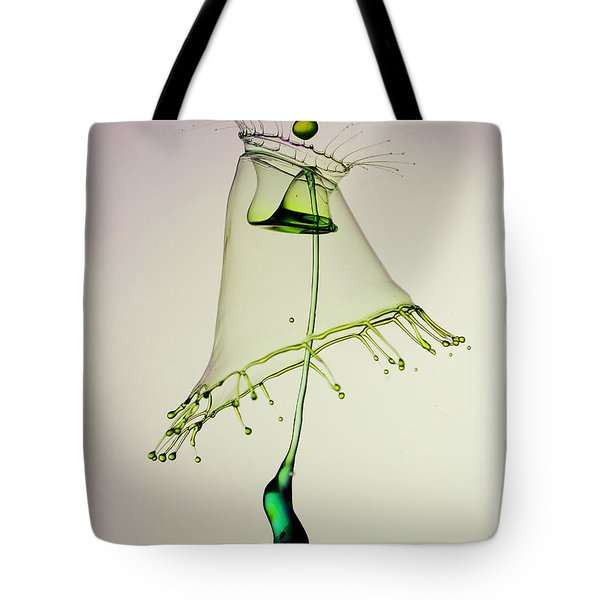 In Green Tote Bag