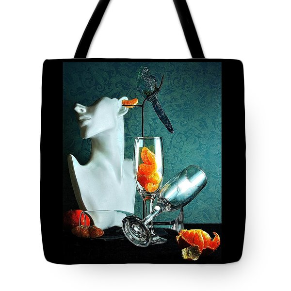 Tote Bag featuring the photograph In Honor Of Karo by Elf Evans