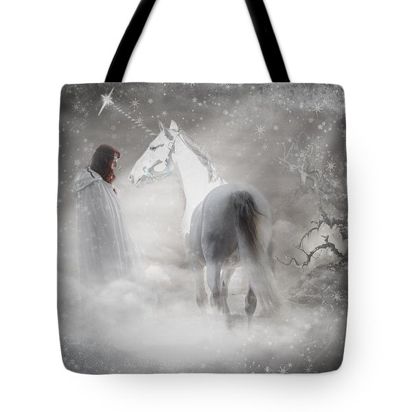 In Honor Of The Unicorn Tote Bag