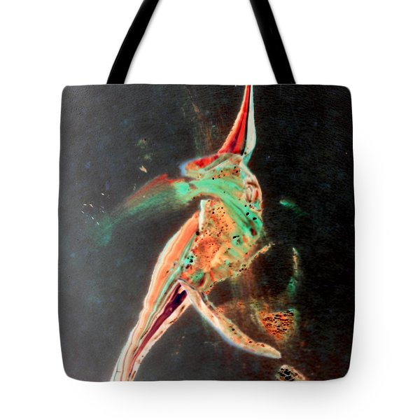 Tote Bag featuring the painting In Jest by Jacqueline McReynolds