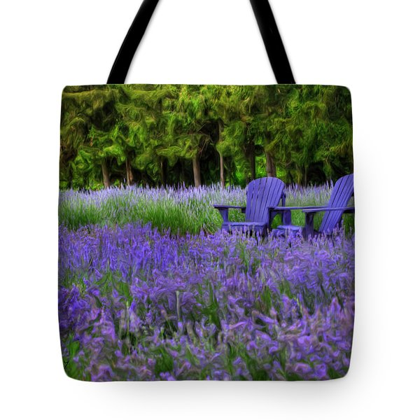 In Lavender Tote Bag