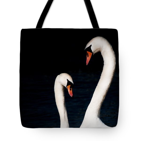 Tote Bag featuring the photograph In Love by Laura Melis