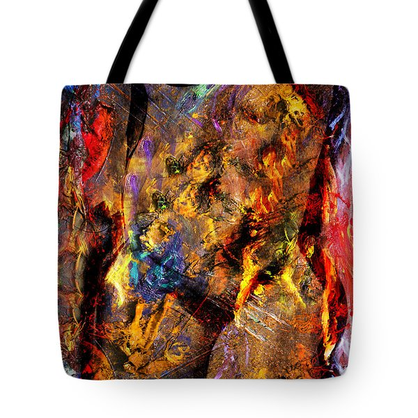 In My Mind  Tote Bag by Mark Ashkenazi