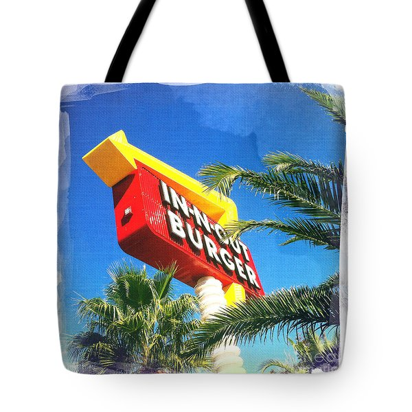 In-n-out Burger Tote Bag