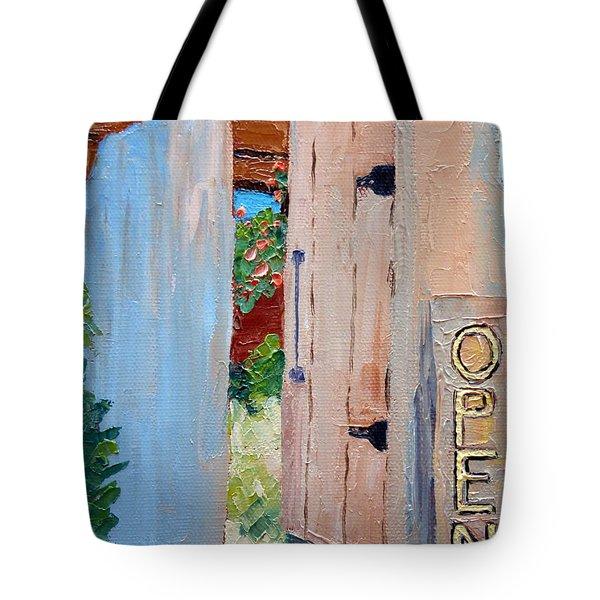 In Old Mesilla Nm Tote Bag