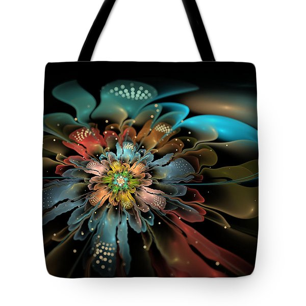 In Orbit Tote Bag by Kim Redd
