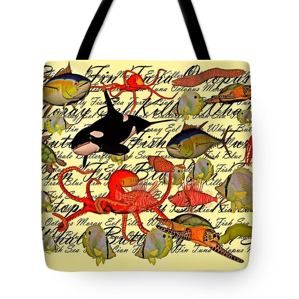 In Our Sea Tote Bag by Betsy Knapp