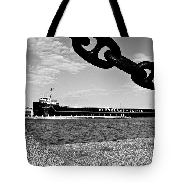 In Port Tote Bag by Frozen in Time Fine Art Photography