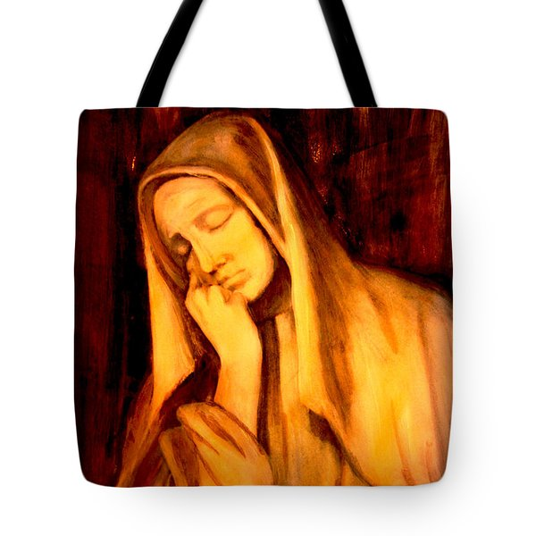 In Prayer Tote Bag
