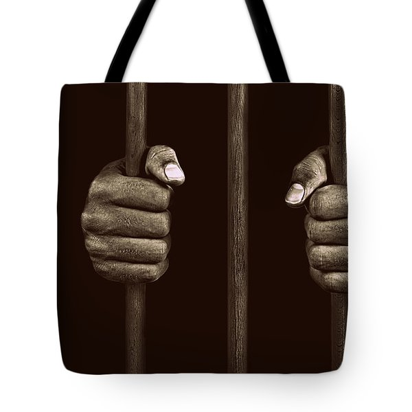 In Prison Tote Bag