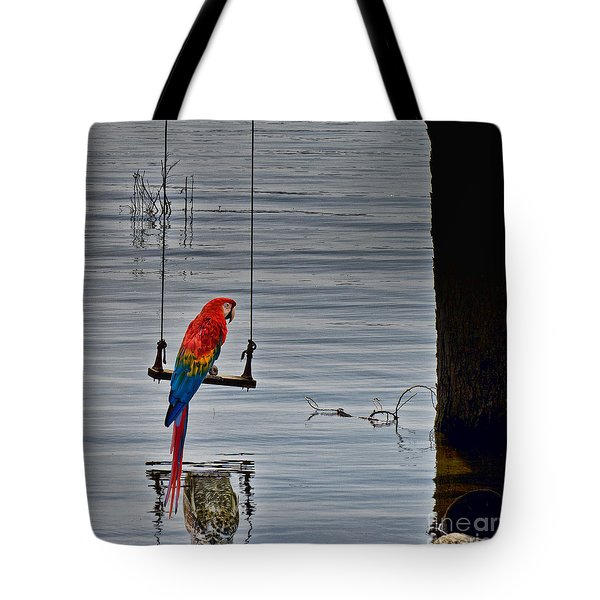 In Reflective Mood Tote Bag