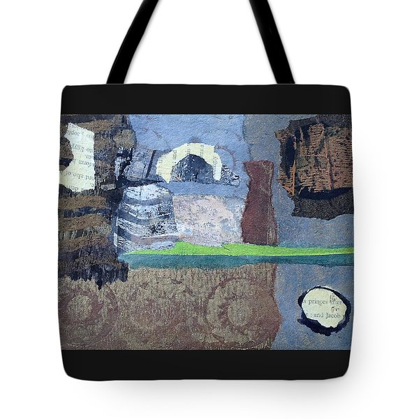 In Ruins Tote Bag by Catherine Redmayne