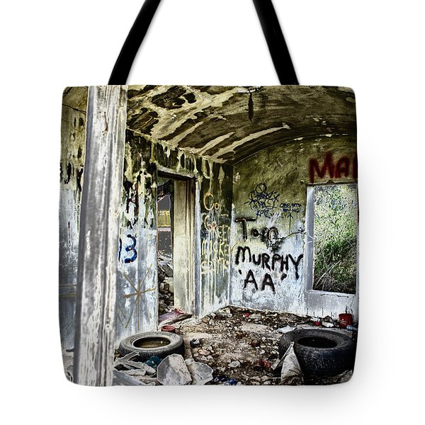 In Ruins Tote Bag by Erika Weber