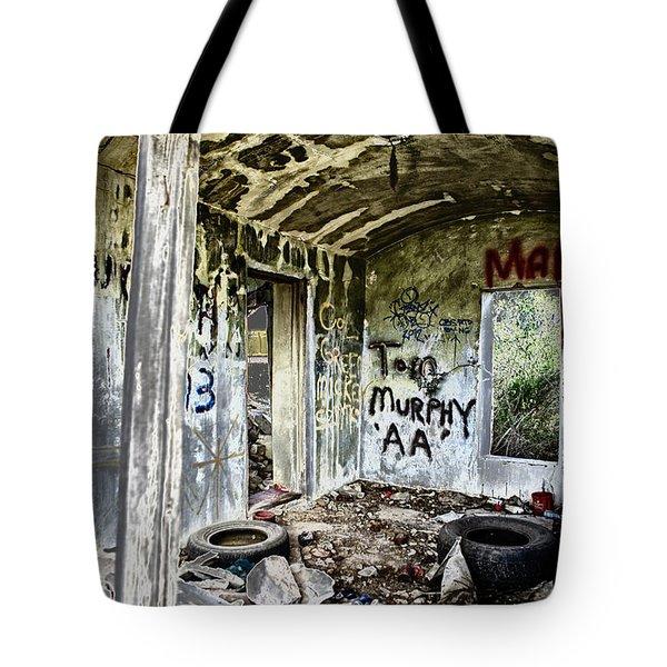 In Ruins Tote Bag