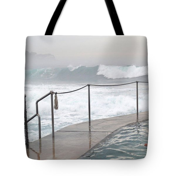 Tote Bag featuring the photograph In Safe Waters by Evelyn Tambour