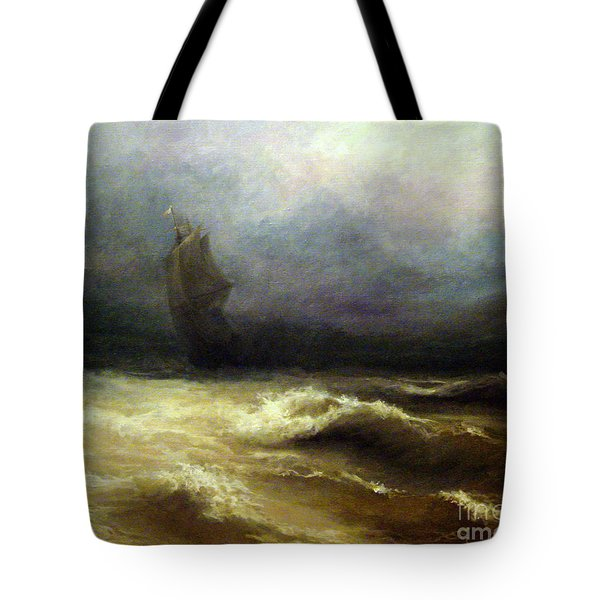 In Shadow Tote Bag by Mikhail Savchenko