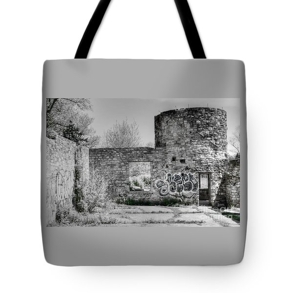 In Side The Boathouse Tote Bag by Kathleen Struckle