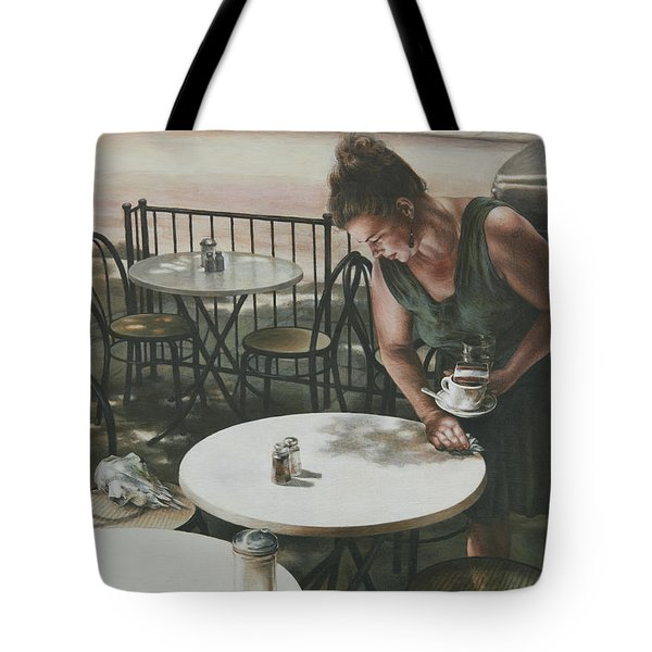 In The Absence Of A Dream Tote Bag by Yvonne Wright