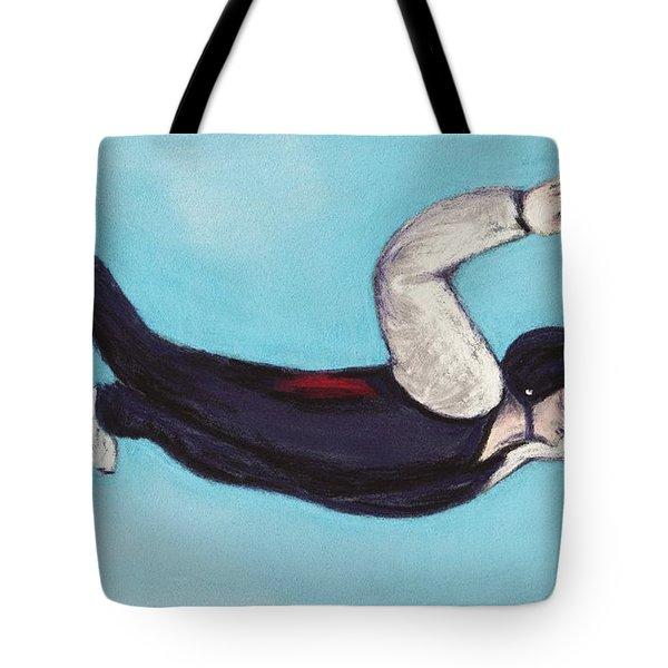 In The Air Tote Bag by Anastasiya Malakhova
