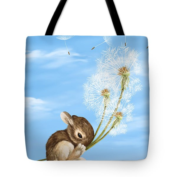In The Air Tote Bag by Veronica Minozzi