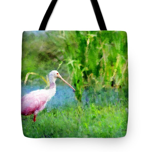 Tote Bag featuring the photograph In The Bayou #1 by Betty LaRue