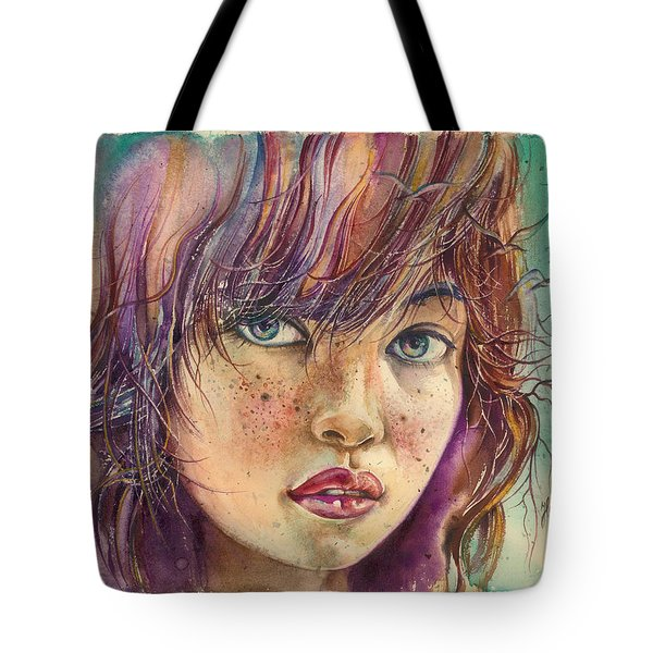 In The Bird Paradise Tote Bag