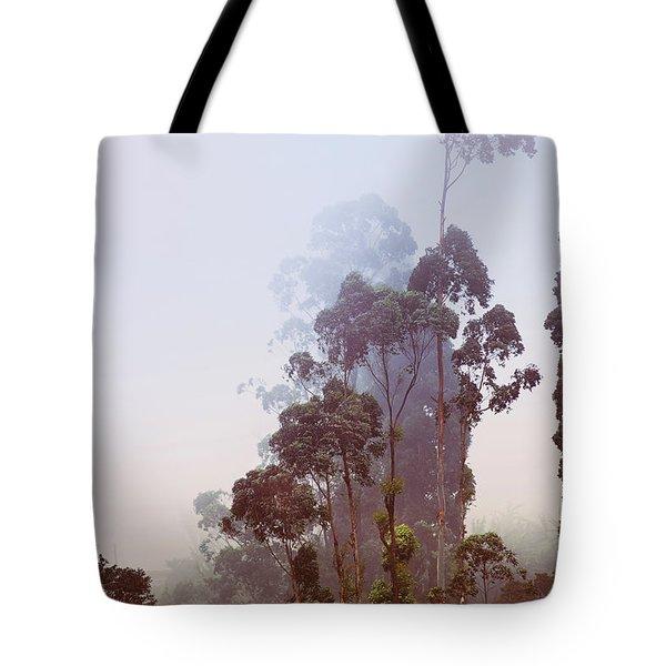 In The Blue Silence. Nuwara Eliya Tote Bag by Jenny Rainbow