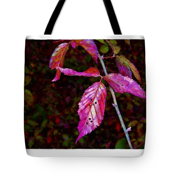 In The Briar Patch Tote Bag by Judi Bagwell