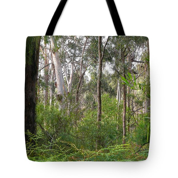 Tote Bag featuring the photograph In The Bush by Evelyn Tambour