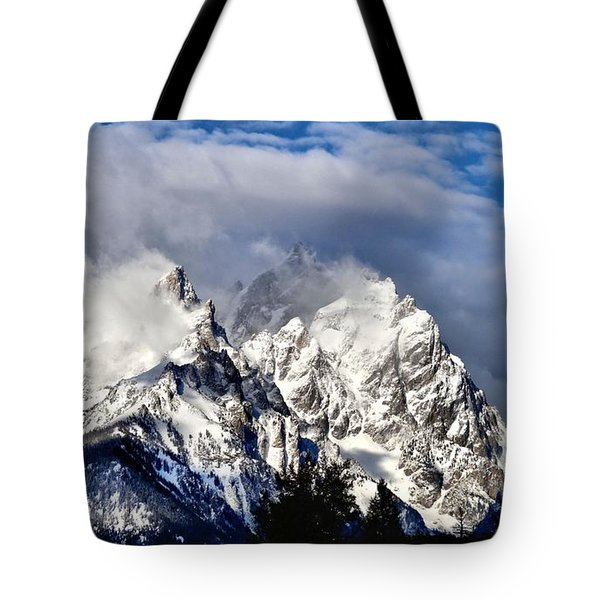 The Teton Range Tote Bag