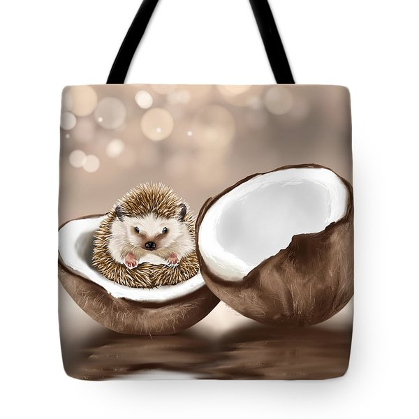 In The Coconut Tote Bag by Veronica Minozzi