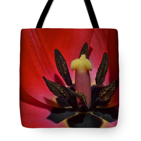 In The Corner Tote Bag by Frozen in Time Fine Art Photography