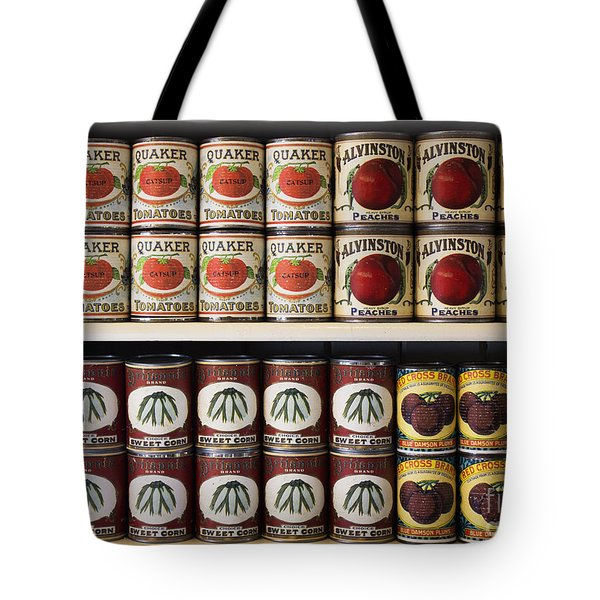 In The Cupboard Tote Bag by Barbara McMahon