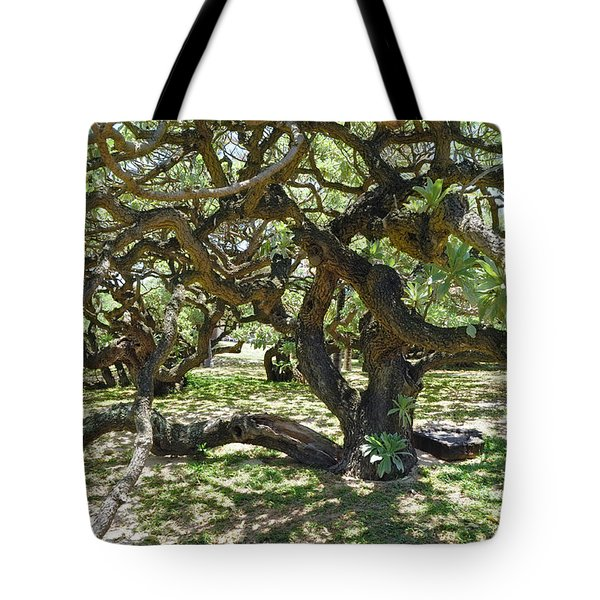 In The Depth Of Enchanting Forest I Tote Bag by Jenny Rainbow