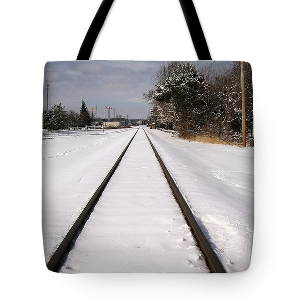 Tote Bag featuring the photograph In The Distance by Sara  Raber