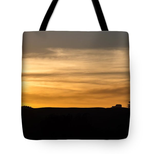 In The Evening I Rest Tote Bag