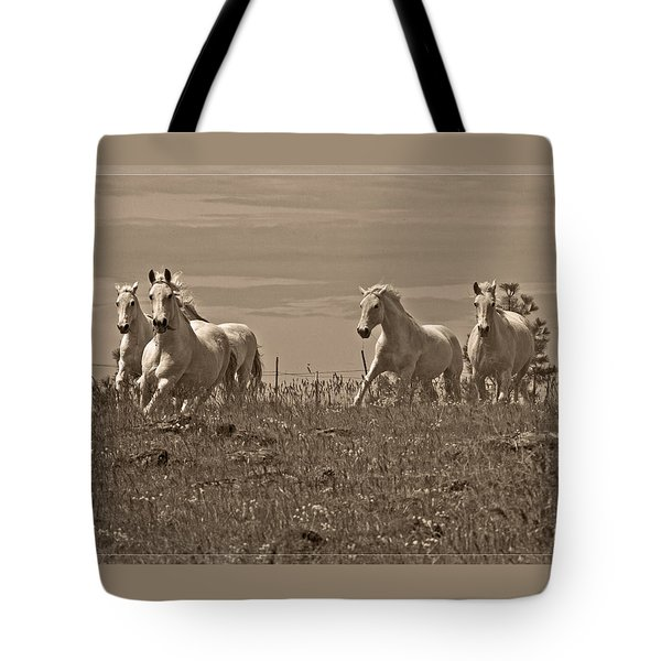 Tote Bag featuring the photograph In The Field D5959 by Wes and Dotty Weber