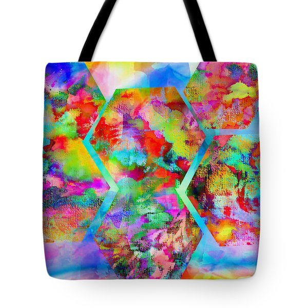 In The Flowers Tote Bag by M and L Creations Craft Boutique