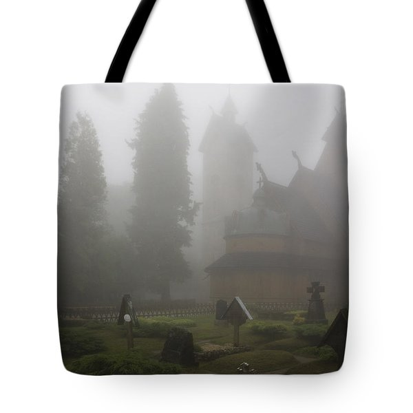 In The Fog Tote Bag by Joanna Madloch