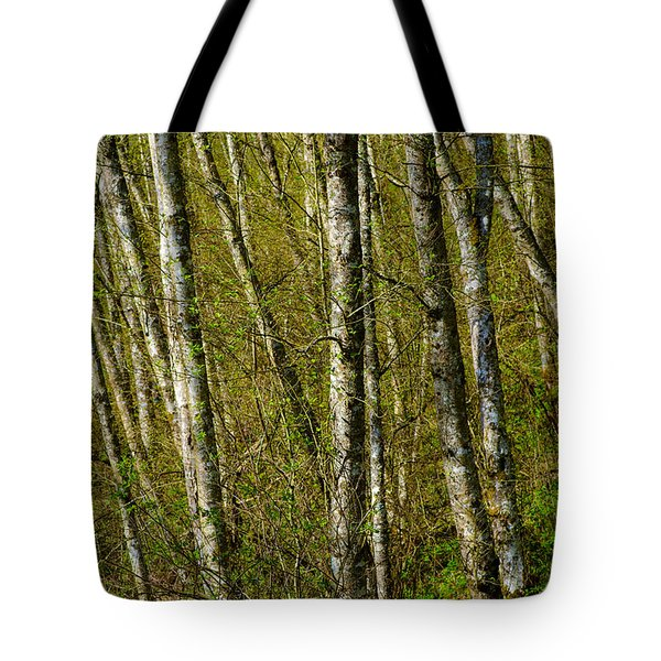 In The Forest Tote Bag by Michele Wright